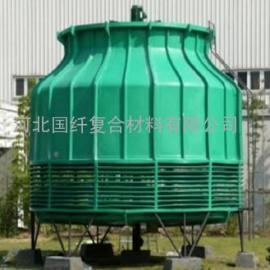 圆型逆流式玻璃钢冷却塔