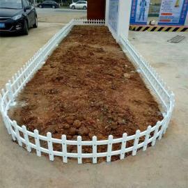 宁波北仑区PVC草坪护栏花坛围栏,镇海区PVC市政公园护栏