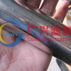 阴阳离子交换器中排支管,梯形丝中排支管