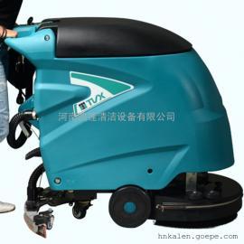 商城空中保养公用洗地机-手推式标准电池洗地机