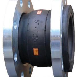 单球体橡胶接软接头可曲挠软连接柔性橡胶减震器