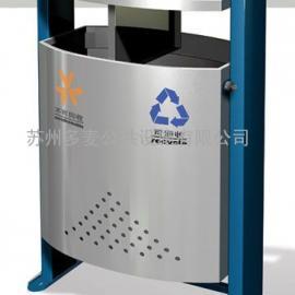 苏州实木垃圾桶厂家-苏州园林果皮箱-苏州景观垃圾桶