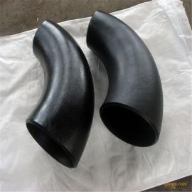 焊接90度无缝冲压弯头钢制长半径钢制碳钢Φ18-Φ219
