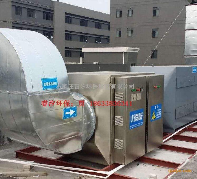 污水厂废气处理设备图片 高清大图 谷瀑环保