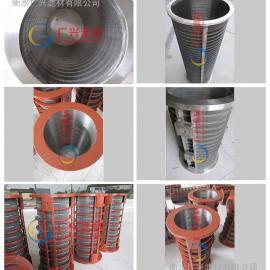猪粪牛粪固液分离机楔形滤筒/180m滤网