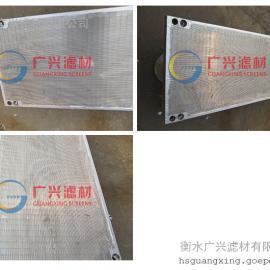 不锈钢焊接绕丝筛板 食品过滤筛板