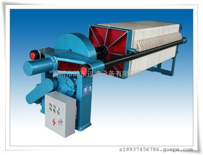 电动机械压紧箱式压滤机