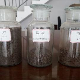 辽宁锰砂滤料 水处理用1-2mm锰砂滤料厂家直供