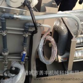 小型化设计,不易堵塞的叠螺污泥脱水机诸城善丰机械