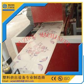 PVC吊顶装饰扣板设备 塑料吊顶扣板设备