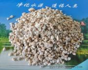 重庆万州水处理无烟煤滤料生产麦饭石滤料水过滤锰砂滤料