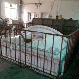 广州擎天工业园污水站膜结构密封罩,污水池加盖,膜加盖