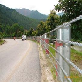 防撞设施-钢丝绳护栏,钢丝绳护栏优质厂家