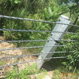 湖北宜昌景区绳索护栏,绳索护栏定做