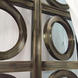 不锈钢屏风花格隔断镂空中式客厅玄关屏风 不锈钢屏风专业加工
