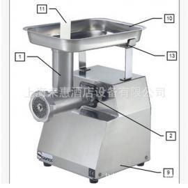 不锈钢绞肉机12-12、山度士商用多功能不锈钢绞肉机