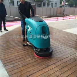 手推式洗地机-小型电瓶式洗地机