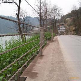 湖南长沙路段防撞护栏,钢索护栏厂家