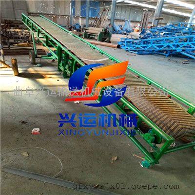 淮安 直销快递装卸货0.6米宽9米长圆管皮带输送机
