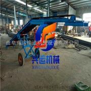 厂价定做移动式电动升降输送机 500带宽调试型皮带输送机