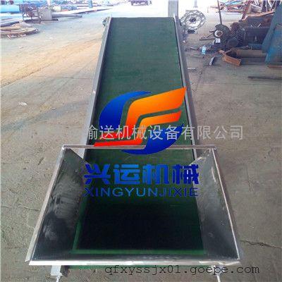 江苏省按需定做650型散料装车皮带机 生物质颗粒凹型输送机
