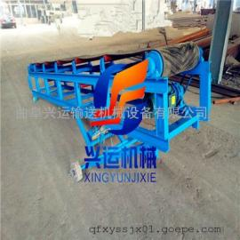 槽钢主架输送机报价咨询 移动式输送机 和田圆管主架皮带机