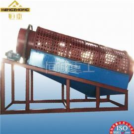 江西沙金专用选矿设备XGT1225无轴滚筒筛金机