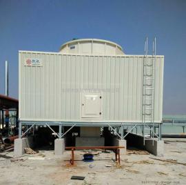 500T方形冷却塔 横流式超低噪声冷却塔