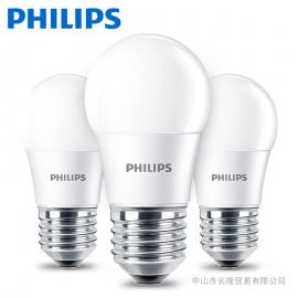 �w利浦LED球泡��E27/E14螺口3W 6.5W 8W