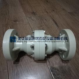 法兰式PP管道阻火器 DN25-DN300塑料PP阻火器