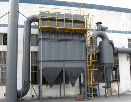 生物质锅炉除尘器图片 高清大图 谷瀑环保