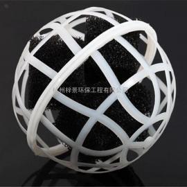 聚氨酯球型生物填料、聚氨酯生物填料、聚氨酯填料、球型填料