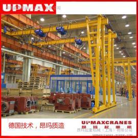 法兰泰克欧式叉车10吨欧式单梁门式叉车5吨门式叉车