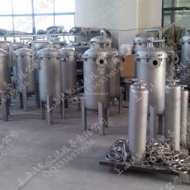 厂家直销 多袋式过滤器 大流量袋式过滤机