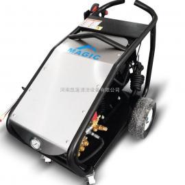 山东潍坊除锈除漆水喷砂环保高压清洗机-迈极进口高压水枪