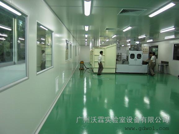 万级制药生物无尘车间设计与施工