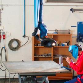 尼的曼吸气臂、尼德曼活动臂、排气管、万向臂、铝合金骨架外置
