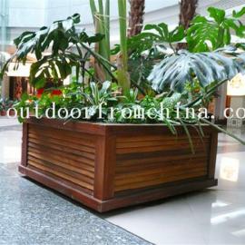 供应花园、广场、街道景观花箱 组合花架 花盆 花槽