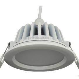 LED筒灯外壳 防雾防水100%防水LED筒灯外壳