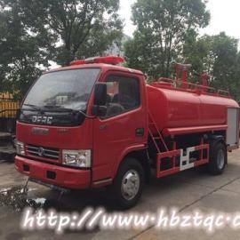 国五东风3吨小型消防洒水车