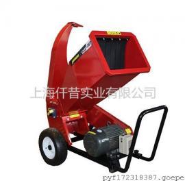 移动树枝粉碎机小型车载式树枝树干粉碎机柴油发动机