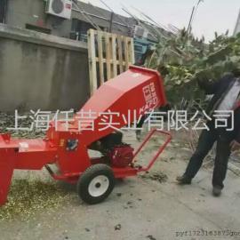 本田GX390果树树枝树叶粉碎机秸秆粉碎机柴油电动粉碎机