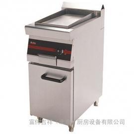 唯利安燃气平扒炉连柜座1/2GDP7-7 商用平扒炉