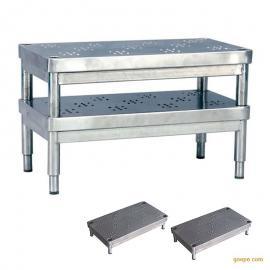 昂派up-20021不锈钢医用脚踏凳 手术脚凳 带防滑凸起点 可以叠装