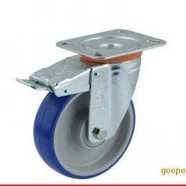 叉车专用工业进口脚轮万向轮承重轮意大利品质Tellure rota