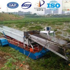 水葫芦清洁设备、水下水草切割打捞船