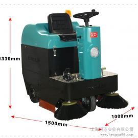 驾驶式扫地机工业清扫车KL1050凯叻垃圾车环卫车工厂车间用