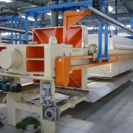 强国压滤机生产厂家供应1500/500平方全自动翻板压滤机