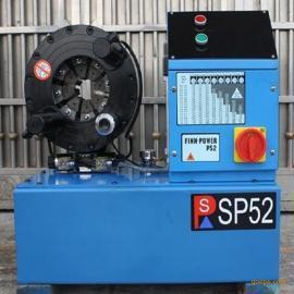2寸高压油管压管机丨油压压管机丨扣缩管机