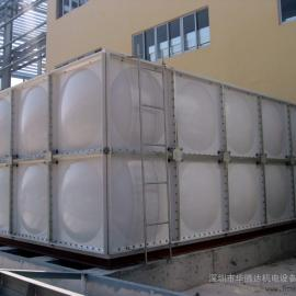 供应SMC组合式玻璃钢水箱 拼装玻璃钢水箱(厂家安装)